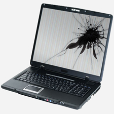 laptop cracked screen repair